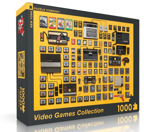 Puzzle (1000pc) Video Games Collection