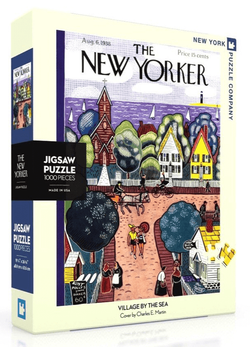 Puzzle (1000pc) New Yorker : Village by the Sea