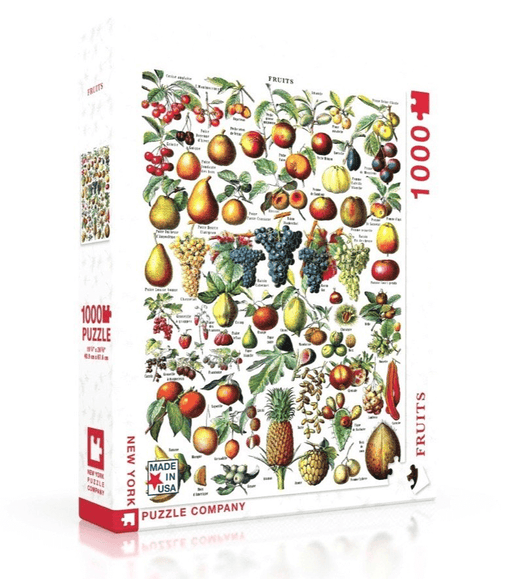 Puzzle (1000pc) Vintage : Fruits