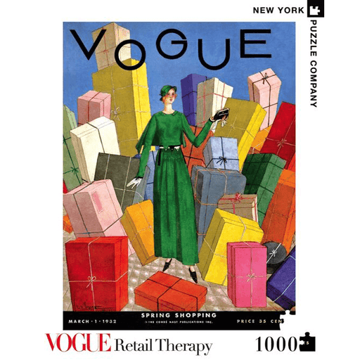 Puzzle (1000pc) Vogue : Retail Therapy