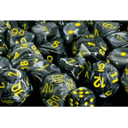 Dice 7-set Vortex (16mm) 27438 Black / Yellow