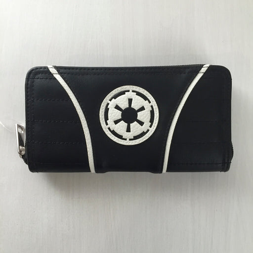 Star Wars Zipper Wallet : Empire Insignia