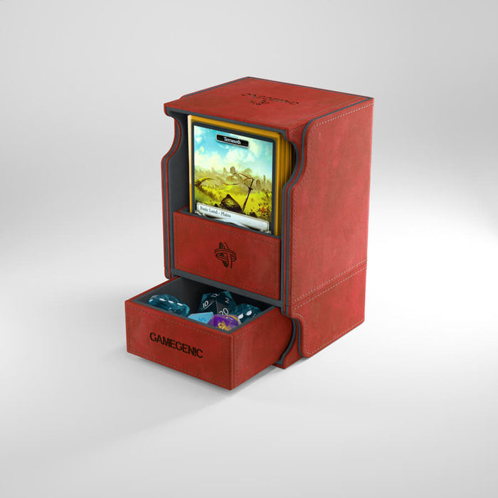 Deck Box - Watchtower (100ct) Red