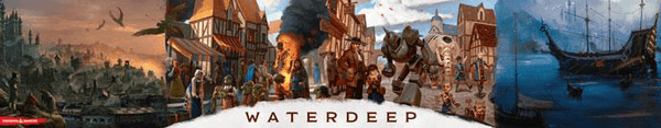 D&D (5e) Waterdeep Dragon Heist : DM Screen