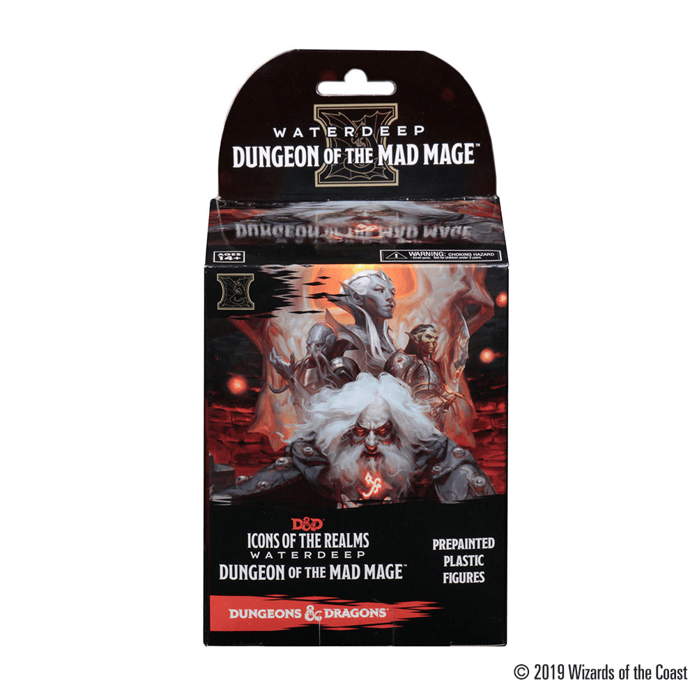 Mini - D&D Icons of the Realms Booster : Waterdeep Dungeon of the Mad Mage