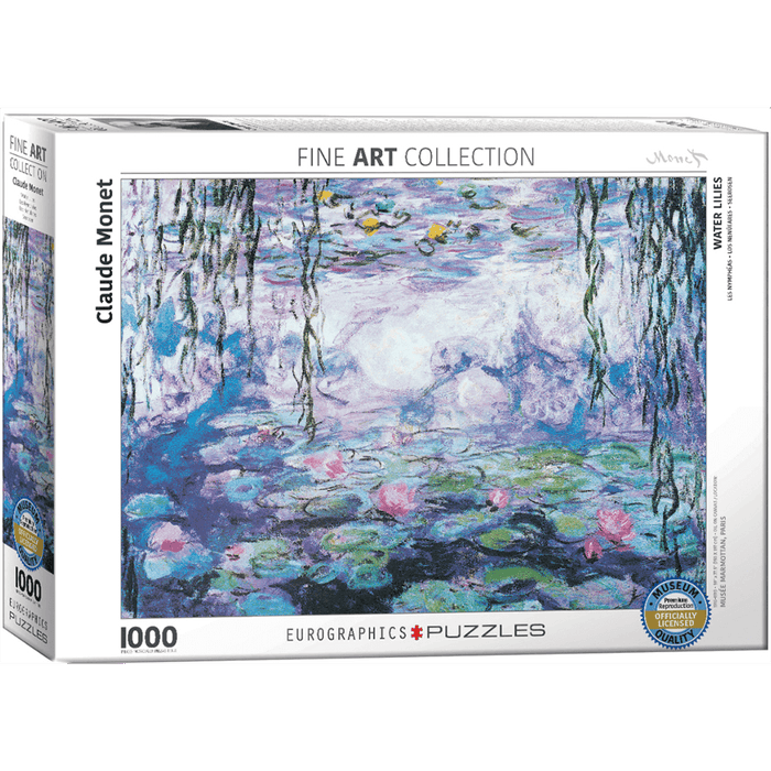 Puzzle (1000pc) Fine Art : Waterlillies