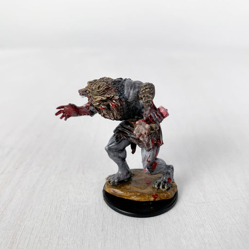 Pro Painted Miniature by Lauren Bilanko | Werewolf Manĝulo