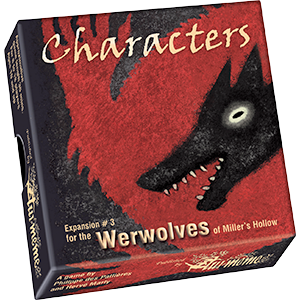Werewolves of Miller Hollow Expansion : Characters