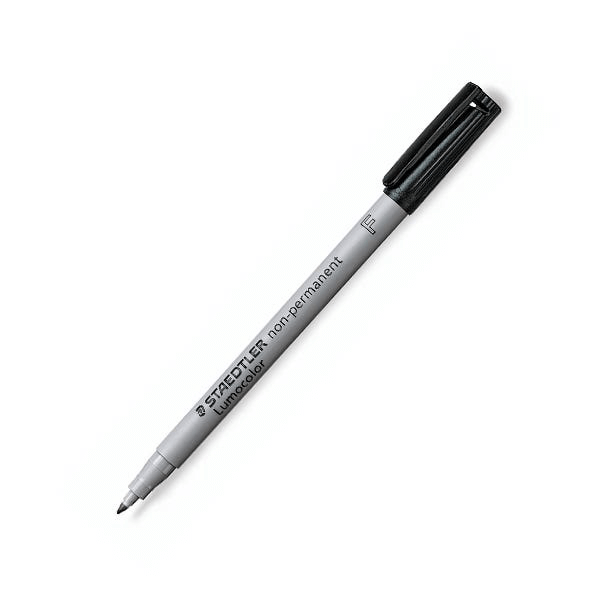 Wet Erase Marker Staedtler Lumocolor : Medium Black