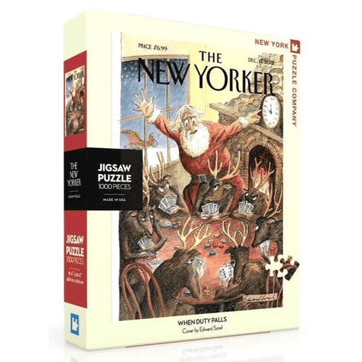 Puzzle (1000pc) New Yorker : When Duty Palls