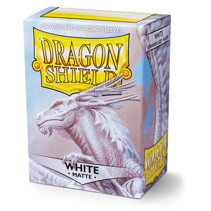 Sleeves Dragon Shield (100ct) Matte : White