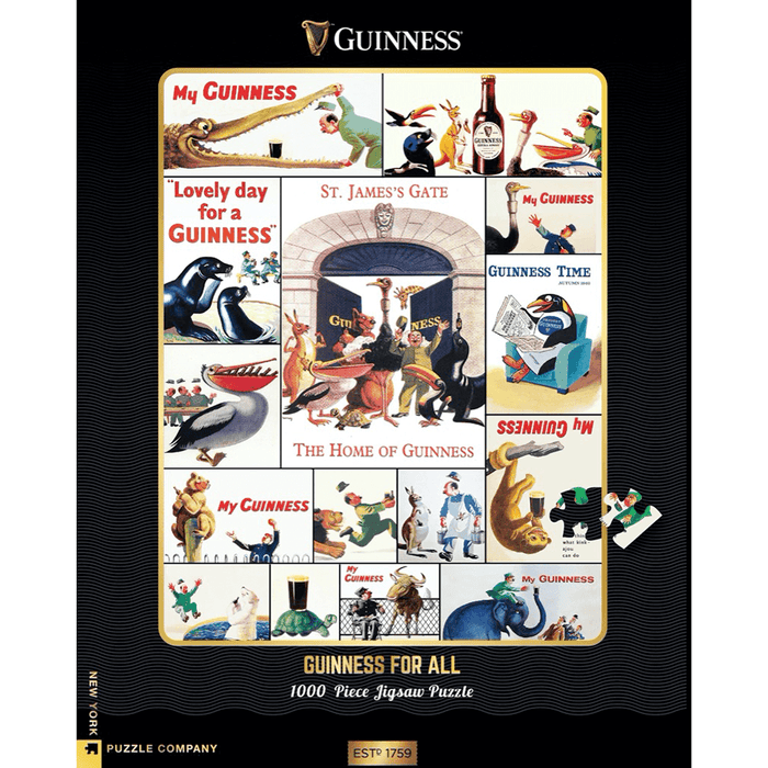 Puzzle (1000pc) Guinness : Who's Got the Guinness?