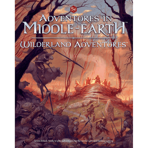 D&D (5e) Adventures in Middle-Earth Wilderland Adventures