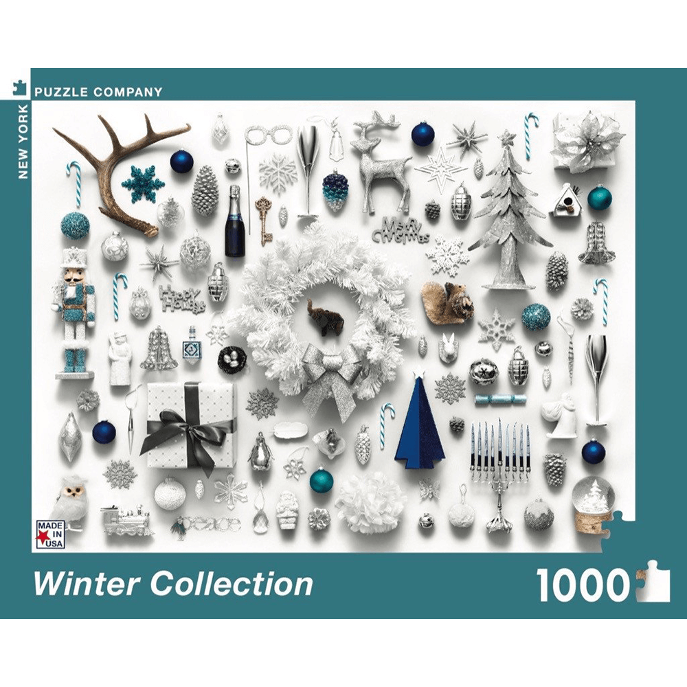 Puzzle (1000pc) Jim Golden : Winter Collection