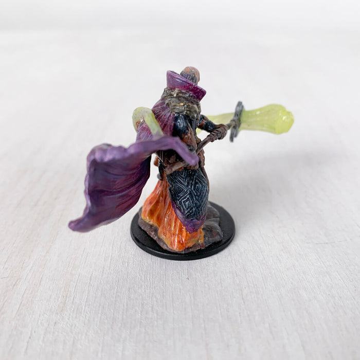 Pro Painted Miniature by Lauren Bilanko | Wizard Kitaak