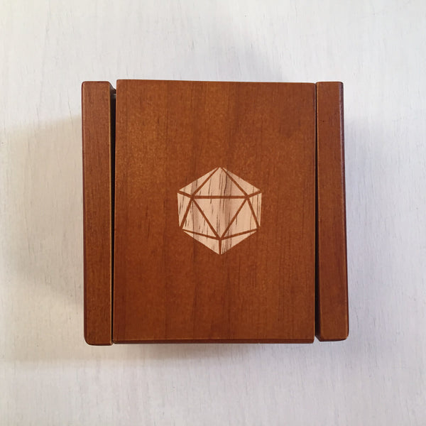 Wood Box (2x4in) 20ss Magnetic Lid