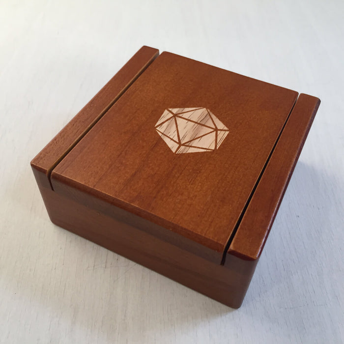Wood Box (2x2in) 20ss Magnetic Lid