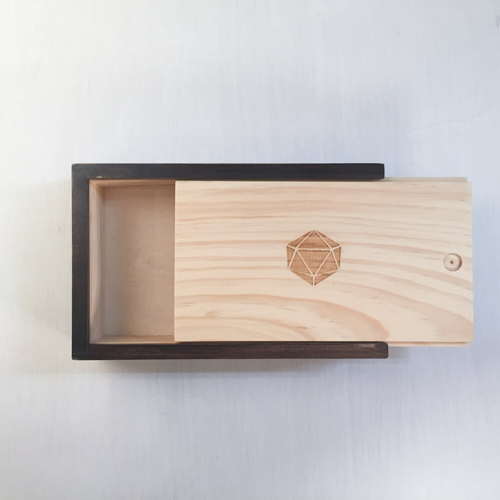 Wood Box (5x8in) 20ss Slider