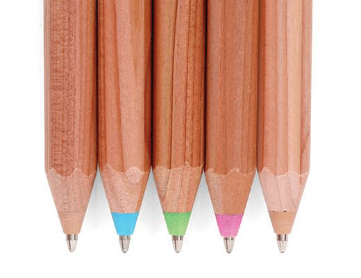 Pen (Ballpoint) Wooden Rainbow