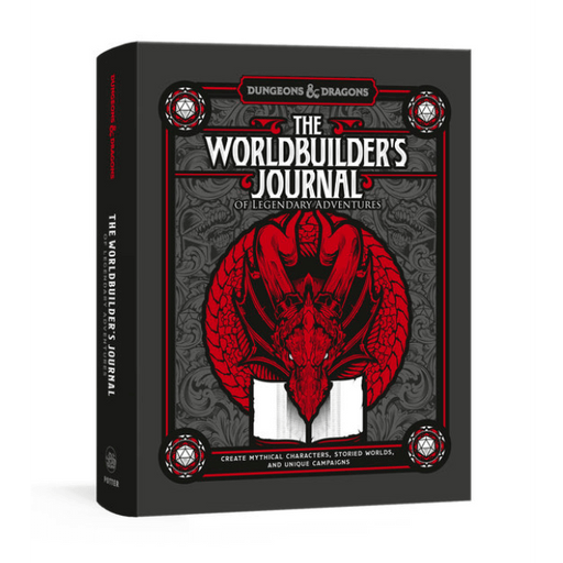 D&D (5e) The Worldbuilder's Journal of Legendary Adventures