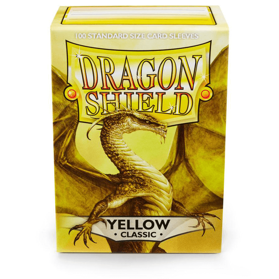 Sleeves Dragon Shield (100ct) Yellow