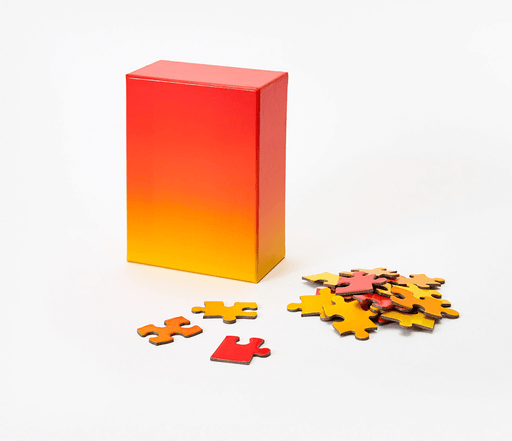 Gradient Puzzle (100pc) Yellow / Red
