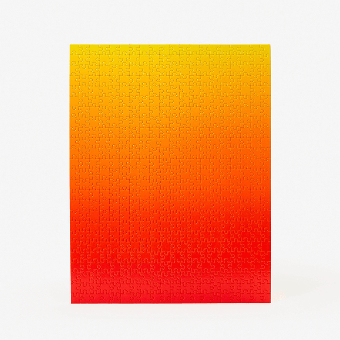 Gradient Puzzle (500pc) Red / Yellow