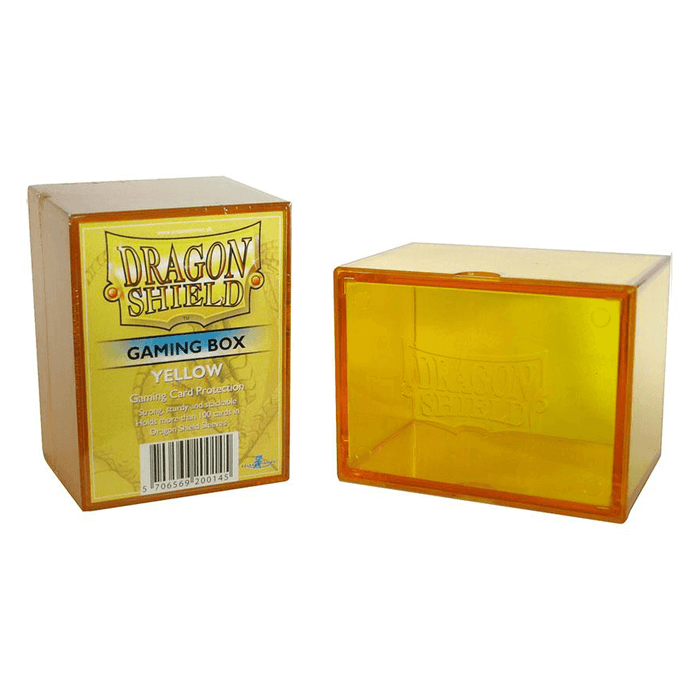 Deck Box - Dragon Shield Gaming Box (100ct) Yellow