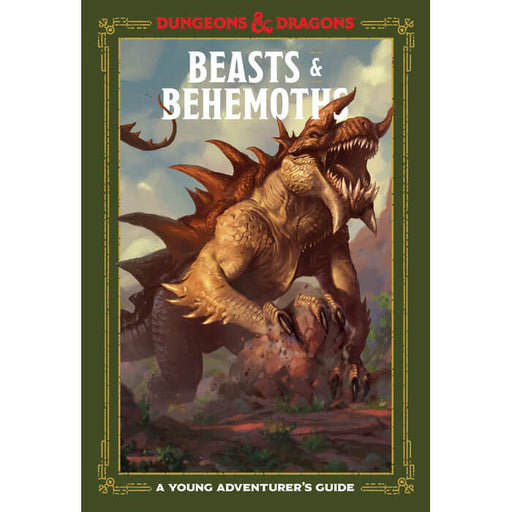 D&D (5e) A Young Adventurer's Guide : Beasts & Behemoths