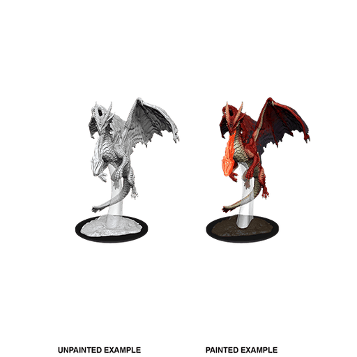 Mini - D&D Nolzur's Marvelous : Young Red Dragon