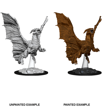 Mini - D&D Nolzur's Marvelous : Young Copper Dragon