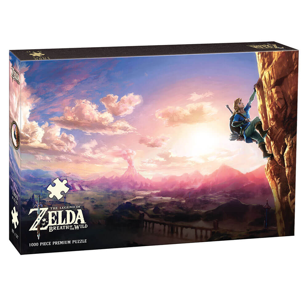Puzzle (1000pc) Legend of Zelda : Scaling Hyrule
