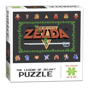 Puzzle (550pc) Legend of Zelda Classic