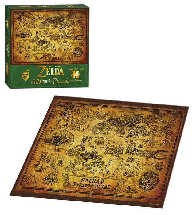 Puzzle (550pc) Legend of Zelda : Map