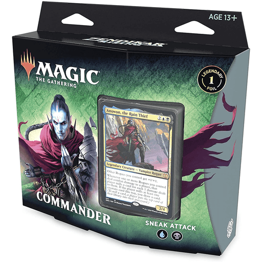 MTG Commander Zendikar Rising : Sneak Attack