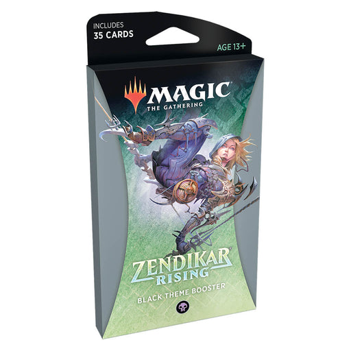 MTG Booster Pack Themed : Zendikar Rising (ZNR) Black