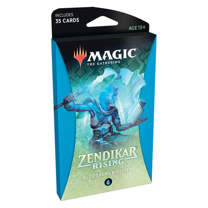 MTG Booster Pack Theme : Zendikar Rising (ZNR) Blue