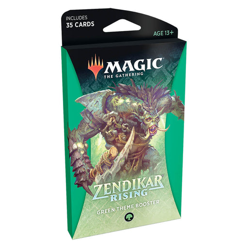 MTG Booster Pack Theme : Zendikar Rising (ZNR) Green