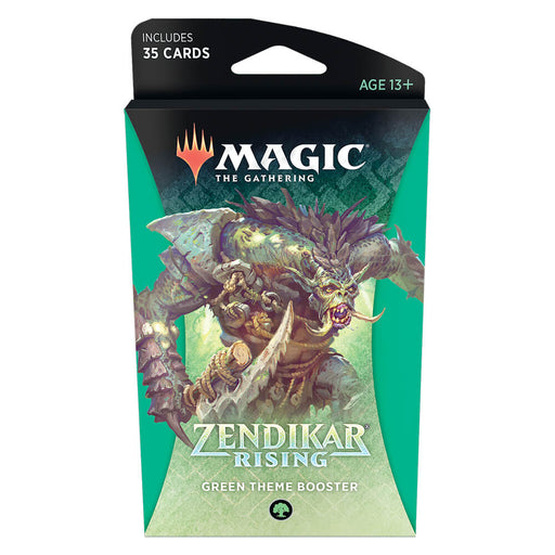 MTG Booster Pack Themed : Zendikar Rising (ZNR) Green