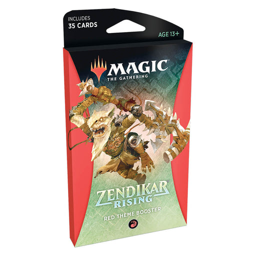 MTG Booster Pack Theme : Zendikar Rising (ZNR) Red