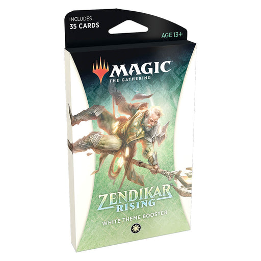 MTG Booster Pack Theme : Zendikar Rising (ZNR) White