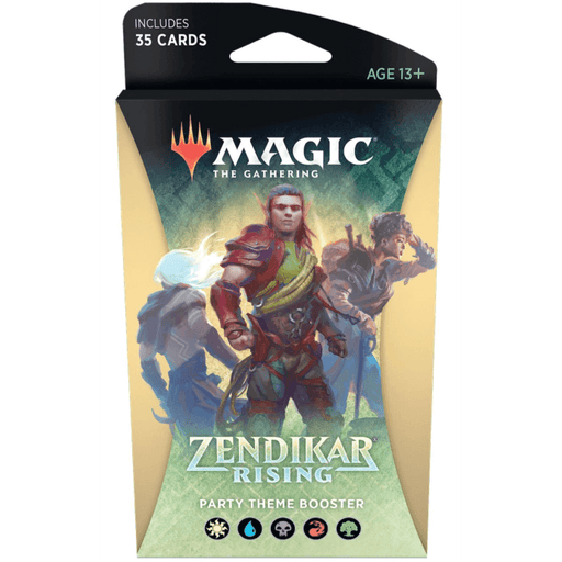MTG Booster Pack Theme : Zendikar Rising (ZNR) Party