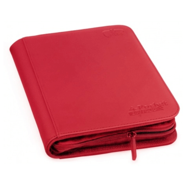 Binder UG (4 Pocket) Zipfolio: Red