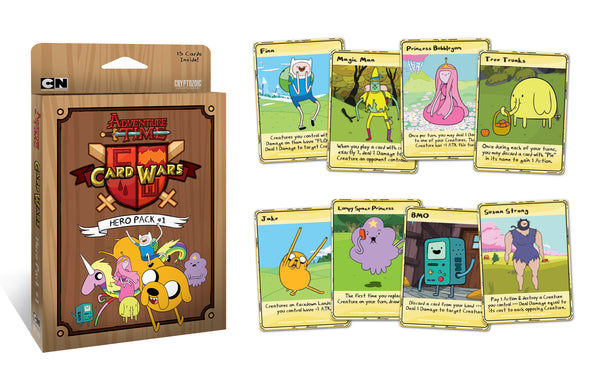 Adventure Time Card Wars Expansion : 1 Hero Pack