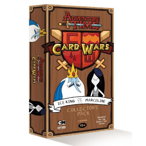 Adventure Time Card Wars Ice King vs. Marceline