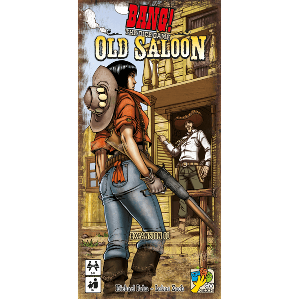 Bang! The Dice Game Expansion : The Old Saloon