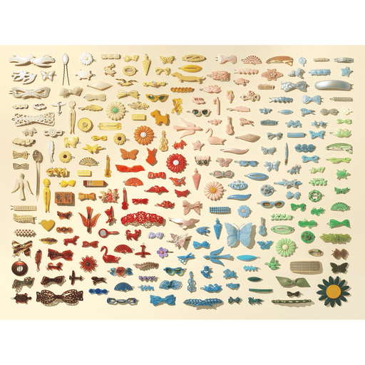 Puzzle (1000pc) Barrettes Collection
