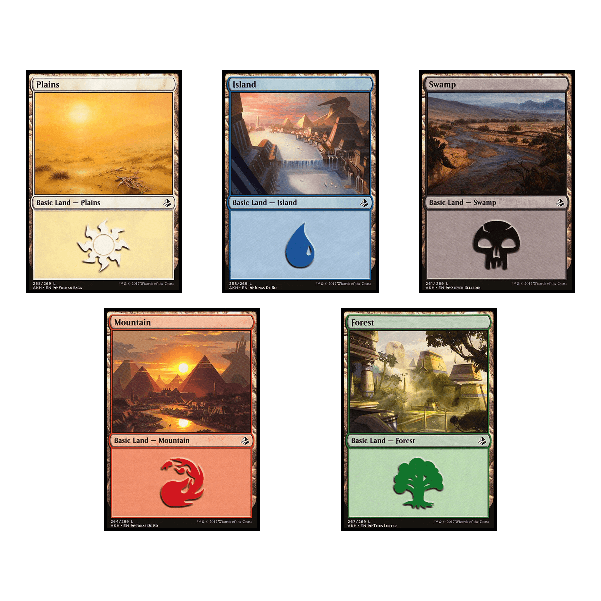 MTG Brick - Basic Land (80ct)