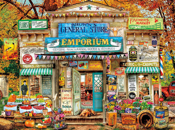 Puzzle (1000pc) Brown's General Store