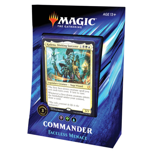 MTG Commander 2019 : Faceless Menace (BGU)